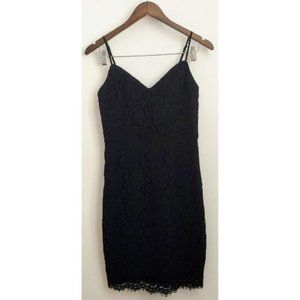 DYNAMITE black lace cocktail dress, size XS